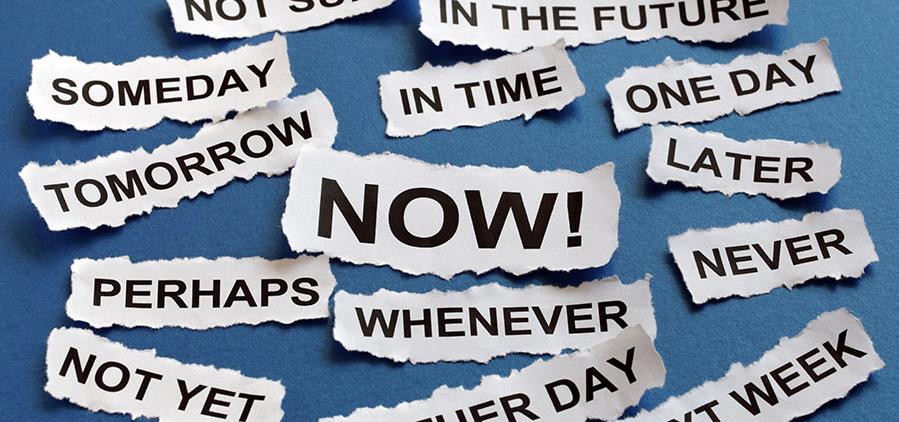 Procrastination: where there's a will…